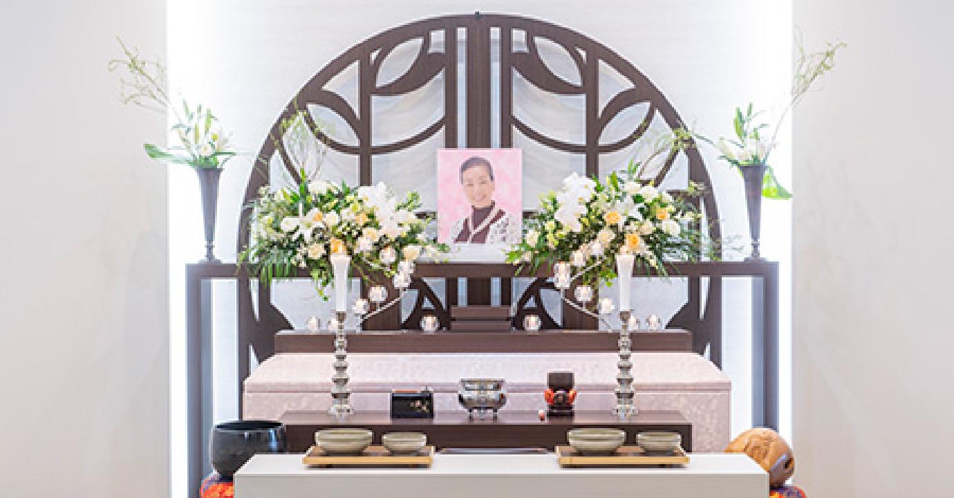家族葬プランの写真